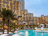 The Mariott Hotel in Orlando, Florida  MirrorVue Mirror TV Client