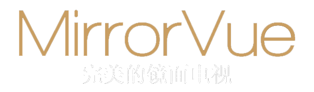 MirrorVue Mirror TV The Perfect Mirror TV Logo